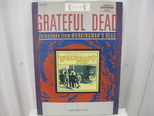 Grateful Dead Workingman's Dead Sheet Music Song Book Guitar Tab Tablature