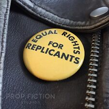 """Blade Runner - Prop Replicants Rights 1.5"""" Button Badge / Promo Cosplay Costume"""