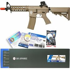 G&G CM TAN Airsoft RIS Raider Short M4A1 M16 AEG Auto Metal Electric Rifle Gun