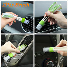2Pcs Car Indoor Air-condition Brush Tool Care Detailing & Home keyboard Cleaning