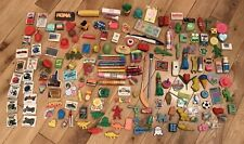 160+ VINTAGE NOVELTY RUBBER ERASER COLLECTION FROM 1970'S & 1980'S  COLLECTABLE