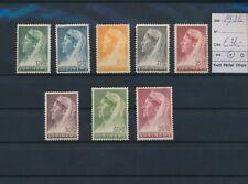LN57062 Suriname 1936 queen Wilhelmina fine lot MH cv 36 EUR