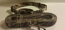 Carter Pet Supply Large Camouflage Martingale Dog Collar & Leash   18 to 25  USA