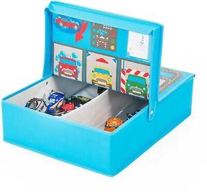Spielzeug Aufbewahrung Kiste Auto Kinder Junge Boxen Straße Behälter Tisch Play