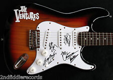THE VENTURES-Rare Autographed Electric Guitar-SURF INSTRUMENTAL-EPPERSON COA