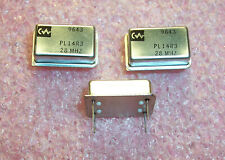 Qty 10 Pl14r3 28mhz Connor Winfield 5v Ttl Voltage Controlled Oscillators Vco