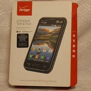 LG Optimus Zone 2 - 4GB - Black (Verizon) Smartphone (READ)