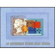 ESPAÑA SPAIN CARNET 150 ANIVERSARIO AÑO 2000 EDIFIL Nº 3711AC+ PRUEBA 71A