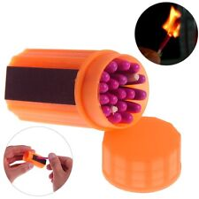 Outdoor Survival Tool Windproof Waterproof Matches Fire Starters Camping Hike
