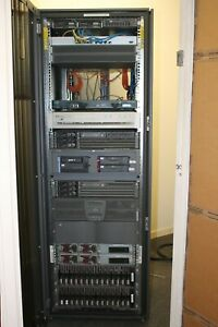 Server Rack Components Recently Decommissioned