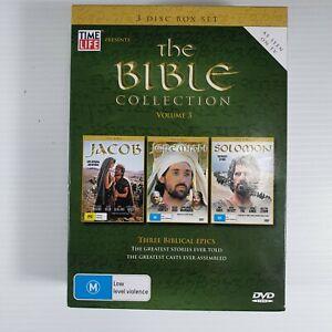 The Bible Collection, Volume 3, 3 Disc Box Set, 3 Bible Epics