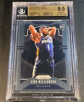 ZION WILLIAMSON 2019 PANINI PRIZM #248 ROOKIE RC BGS 9.5 NEW ORLEANS PELICANS