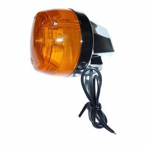 Indicator CEV Chrome Ant Dx/ Rear SX Motorcycle Moto Guzzi 350 V35 II 1980-1985