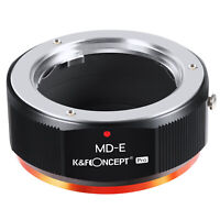 K&F Concept Adapter Pro for Minolta MD MC Lens to Sony EMount Camera a7R2 A73
