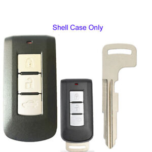 3 Buttons Remote Key Shell Case for Mitsubishi Lancer Outlander Eclipse Galant