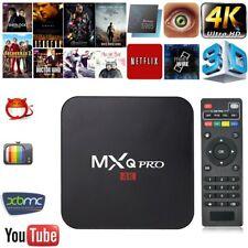 MXQ PRO Android 7.1 Smart TV Box 1G+8G S905W Wifi 4K Movie 3D Media Streamer US