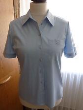 Damen Bluse - Größe 38 - 1/2  Arm -  hellblau - FRANKENWÄLDER