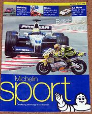 MICHELIN Sport magazine No18 - 2001 anglais gps spécial-F1 MOTOS rally le mans