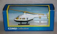 Corgi Toys 93185 Sheriff's dept Helicopter / Hélicoptère Neuf Boite Rare (#A22)