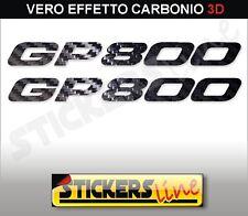 Adesivi GP 800 carbonio 3D stickers GILERA GP800 carbon