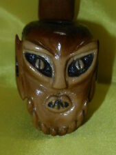 Rare Soviet Russian extraterrestrial Demon Smoking Pipes old tobacco pipe alien