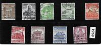 #6924    Complete 1940 Winter Relief fund stamp set / Third Reich era Germany