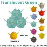 Tamashii Effect Explosion Green & Stand Holder Fit SHF Figma 1/144 Gundam Model