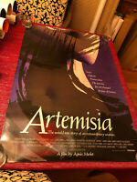 Artemisia Movie Poster One Sheet Rare Not Folded 27x40