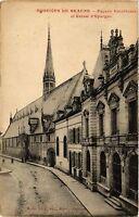 CPA   Hospices de Beaune - Facade Extérieure et Caisse d'Epargne  (353955)