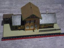 GARE avec cabane modélismes decors maquette FALLER HO ref 1021149 no kibri busch