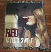 More details for taylor swift red album blanket throw tapestry rare item official
