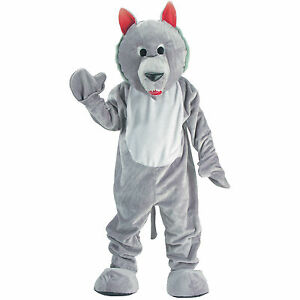Hungry Wolf Mascot Costume for Adults and Kids by Dress Up America
