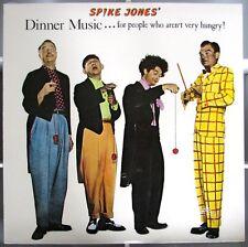 SPIKE JONES  Dinner Music ...  LP 1982 Reissue Album ss Goldberg & O'Reily Music