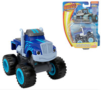 Blaze and the Monster Machines CRUSHER Racing Flag Diecast Car Fisher Price NEW