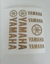 MAXI KIT YAMAHA Stickers Autocollants Adhésifs Moto Scooter Haute Qualité OR