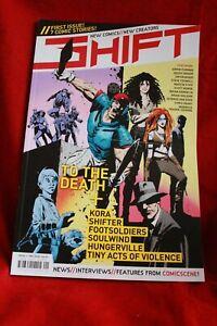 Shift NEW Comic Anthology 1- Steve Yeowell, Geoff Senior, Simon Furman,, Krueger