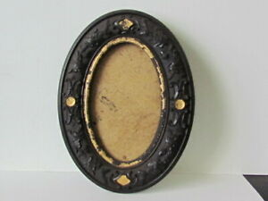 patented Aug. 7th 1855 oval thermoplastic cdv photograph dresser frame