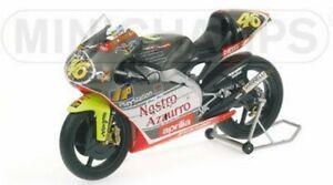 MINICHAMPS 122 990086 Aprilia 250 cc race bike V ROSSI 1999 World Champion 1:12