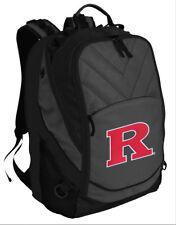 Rutgers University Backpack RU Laptop Computer Bag - LOADED!