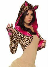 Adult Leopard Shrug Costume One Size