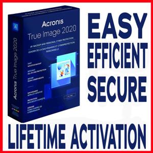 Acronis True Image 2020 Latest Version ✅