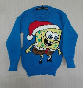 CHILDREN'S HAND-MADE CHRISTMAS JUMPER TO FIT: AGE 2 to 3 years