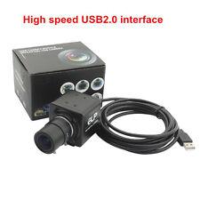 5-50mm Varifocal Lens 8Megapixel SONY (1/3.2'' )IMX179 Mini USB Camera 3264X2448