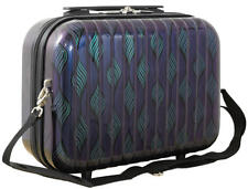 Hartschalen Reise Beautycase Handgepäck Motiv Retro Waves Purple Gr. S