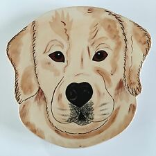 Golden Retriever Plate Decorative Rescue Me Now Collection Darcy Dog Puppy