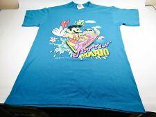 "Vintage Super Mario T-shirt ""Jet'n Mario"" # Nintendo NES Famicom retro"