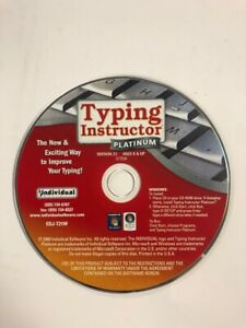 Typing Instructor Platinum Improve Ability To Type Ages 8 & Up PC Computer CD