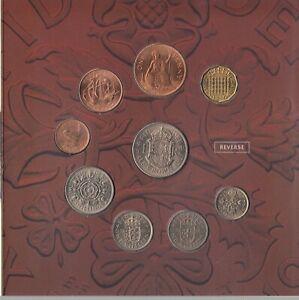 Royal Mint Pre-Decimal Coin Year Set 1967 Uncirculated Set Mint Coins Auction