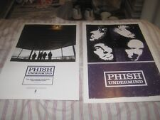 PHISH-UNDERMIND-1 POSTER-2 SIDED-11X17 INCHES-NMINT!!