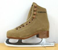 Freesport Girls Figure Skates Tan Ice Skates CLEARANCE SALE
